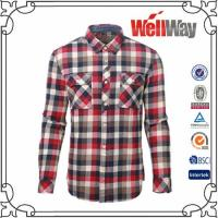 Quality flannel shirt for men for sale