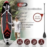 """Quality PVC 10' X 30"""" X 6"""" 253lbs Blow Up Surfboard for sale"""
