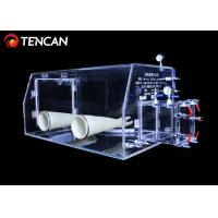 15mm Thickness Acrylic Glove Box Highly Transparent CE / ISO Standard