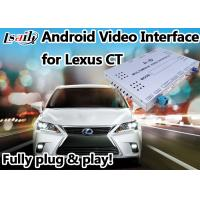 Quality Android 6.0 Lexus Video Interface suit for 2012 or later CT support 4k Video Play for sale
