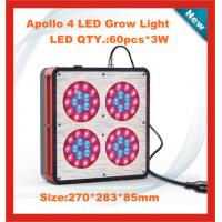 Quality Upgraded Apollo P4 - 180W(60*3W) LED hydroponics Lighting - non-dimmable and non-stop work for sale
