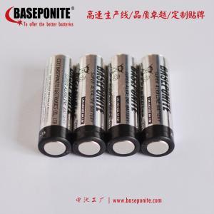 China ZnMo2 LR6 AA 1.5V Super Alkaline battery  made by Baseponite on sale