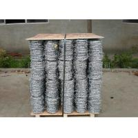 Quality 4 Strand Razor Barbed Wire , Blade Barbed Wire Q195 Material For Fence Protective for sale