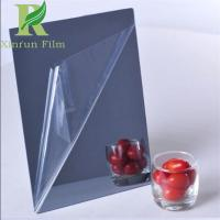 Quality 0.03-0.15mm Transparent Adhesive Acrylic Mirror Sheet Protective Film for sale