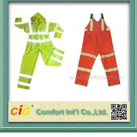 Quality High Visibility ANSI CLASS 3 Winter Workmen Safety Coat Reflective Safety Vests / Clothes for sale