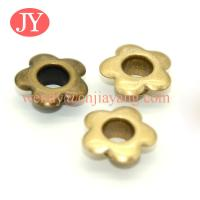Quality jiayang wholesale price Glossy gold precision banner iron eyelets and grommets for sale