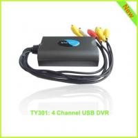 TY301: 4 channel usb dvr usb video capture card