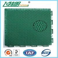 Buy cheap Floated Waterproof Badminton Interlocking Rubber Flooring For Tennis Court from wholesalers
