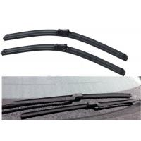 China Push Button Adapter Frameless Universal Wiper Blades / Windscreen Wiper Replacement on sale