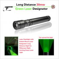 Quality Long Distance Tactical Pistol Rifle Scope , Green Laser Sight With Metal Housing for sale