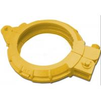 China Zoomlion / Schwing Concrete Pump Spare Parts Screw Clamp High Performance DN150 on sale
