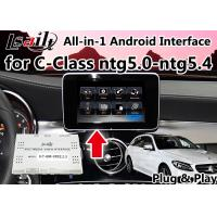 Quality Two - In - One Car Navigation System Android 6.0 Inbuilt Wifi For Mercedes Benz for sale