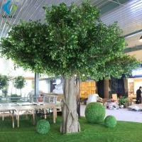 Faux Green Indoor Banyan Tree 6m Height Customized Design Long Use Life for sale