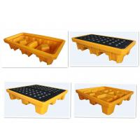 Quality Oil Spill Containment Platform 1 Drum 2 Drum 4 Drum LLDPE Safety Products for sale
