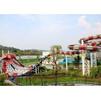 Quality Thrilling Giant Water Snake Slide For Adult / Outdoor Play Equipment for sale