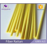Buy cheap Yellow Straight Synthetic Polyester Reed Diffuser Sticks Scent Diffuser Sticks Smooth product