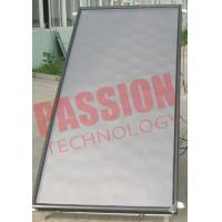 Quality Red Copper Flat Panel Solar Collector , Solar Hot Water Collector Easy Operation for sale