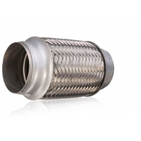 Quality Auto Accessory 63mm Stainless Steel Exhaust Parts Pipe Flex Joint Tube For Muffler for sale