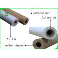 48 Inch 20lb / 75gsm Eco - Friendly Safe Strength Plotter Paper Roll For Hp Printer