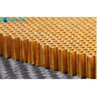 Sound Insulation Aramid Honeycomb Panels Satin Weave Pattern 120 G/M2