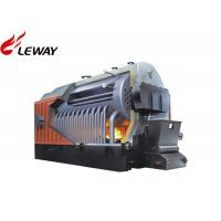China Fuel Biomass Steam Boiler Automatic Operation Control For Central Heating on sale