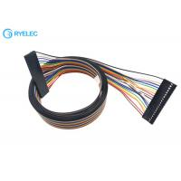 China 2.54mm 20P Dupont With Premium Standard 1.27mm Pitch 20 Pins Flat Rainbow Ribbon Cable on sale