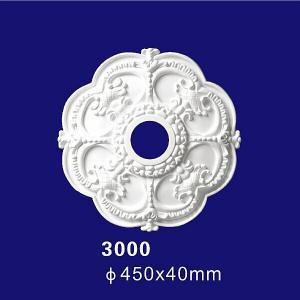 Quality European Design Building Inteior Decoration PU Material Polyurethane Ceiling Medallion for sale