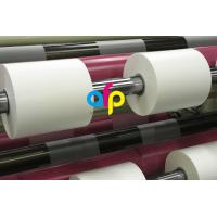 China 42 Dynes Double Corona Treatment Thermal Roll Matte Laminating Film for Hot Stamping and Spot UV on sale
