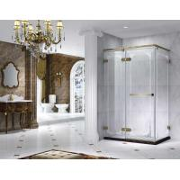 Quality Semi Frameless Rectangle Shower Enclosure With Pivot Door, AB 6231-2 for sale