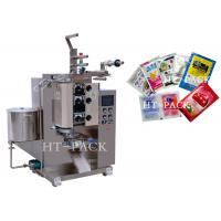 Quality Stainless Steel Automatic Liquid Packing Machine For Sauce / Vinegar / Oil Bag for sale