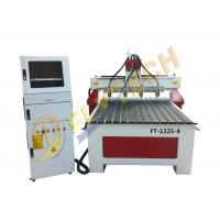 China Wood router cnc 3D MDF engraving machine with four spindles factory price on sale