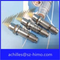 Quality ip50 circular lemo replacement connector wit pcb contact pin for sale