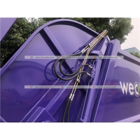 Quality HOWO 5cbm Compactor Garbage Truck Compressed Waste Treatment Truck for sale