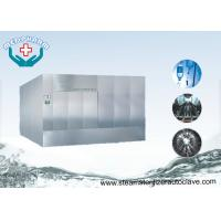 Quality Super Heated Hot Water Spray Pass Through Autoclave For IV Solutions for sale