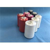 China High Tenacity  Dyed Colors Spun Polyester 100% TFO Sewing Thread 40s/2 5000y Price on sale
