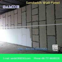 Buy Light weight precast concrete wall panels machine eps board for prefabricated wall panel at wholesale prices
