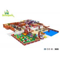 Quality Huge Children Indoor Playground Family Fun Play Area / Kids Play Equipment for sale