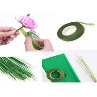 China Soft Paper Covered Floral Wire For Handmake Art Flower Multi Colored Available on sale