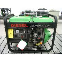 Quality 5kva Movible Diesel Generator Set / Small Portable Genset 4.5kva for sale