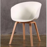 Buy cheap Colorful Sitting Room Modern Furniture Chairs With Plastic Shell And Wood Legs product