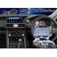 Quality Android Interface GPS Navigation Box for 2017-2018 Lexus Is 350 Mouse Control 12.3 Inch Screen for sale