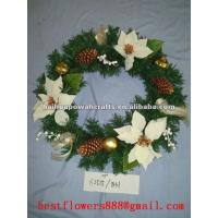 Quality Artificial Flowers Wreath for sale