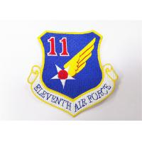 China Customized Morale Air Force Flight Suit Patches Embroidered Sew On Badges on sale