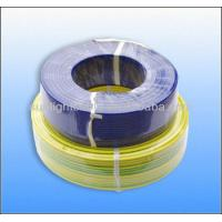 Quality 450 / 750V PVC Insulated Cable And Wires Yellow , Blue Color For Construction for sale