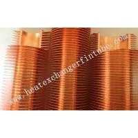 Buy cheap B111 C12200 OD 1'' Tube Carbon Steel / Copper Extruded Finned Tubes product
