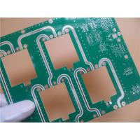 Quality High Frequency PCB RO4350B 30 mil(0.762mm) HASL Lead Free and green soldermask for sale