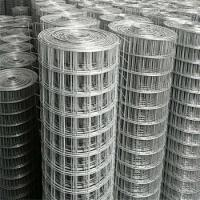 China 1x1 Stainless Steel Welded Wire Fence Panels Low Carbon Hot Dipped Galvanized on sale