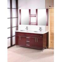Buy cheap Classical Wooden Decoration Bathroom Cabinet product