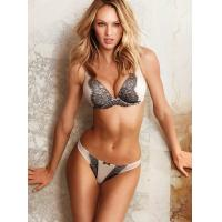 Buy cheap Breathable Convertible Bamboo Fiber Health Embroidered Matching Bra And Underwear Sets product