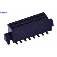 China Gold Plated 2*XXP SMT Au Flash Female Header Connector on sale